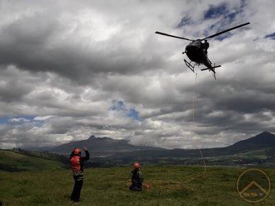 formación rescate helitransportado