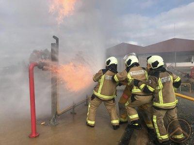 formación bomberos