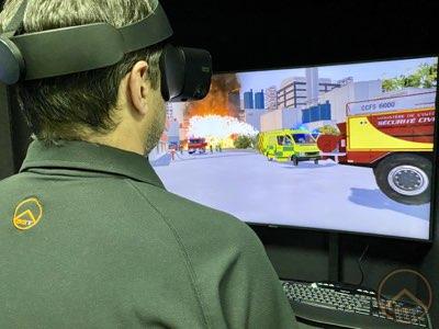 formación gestión emergencias con realidad virtual