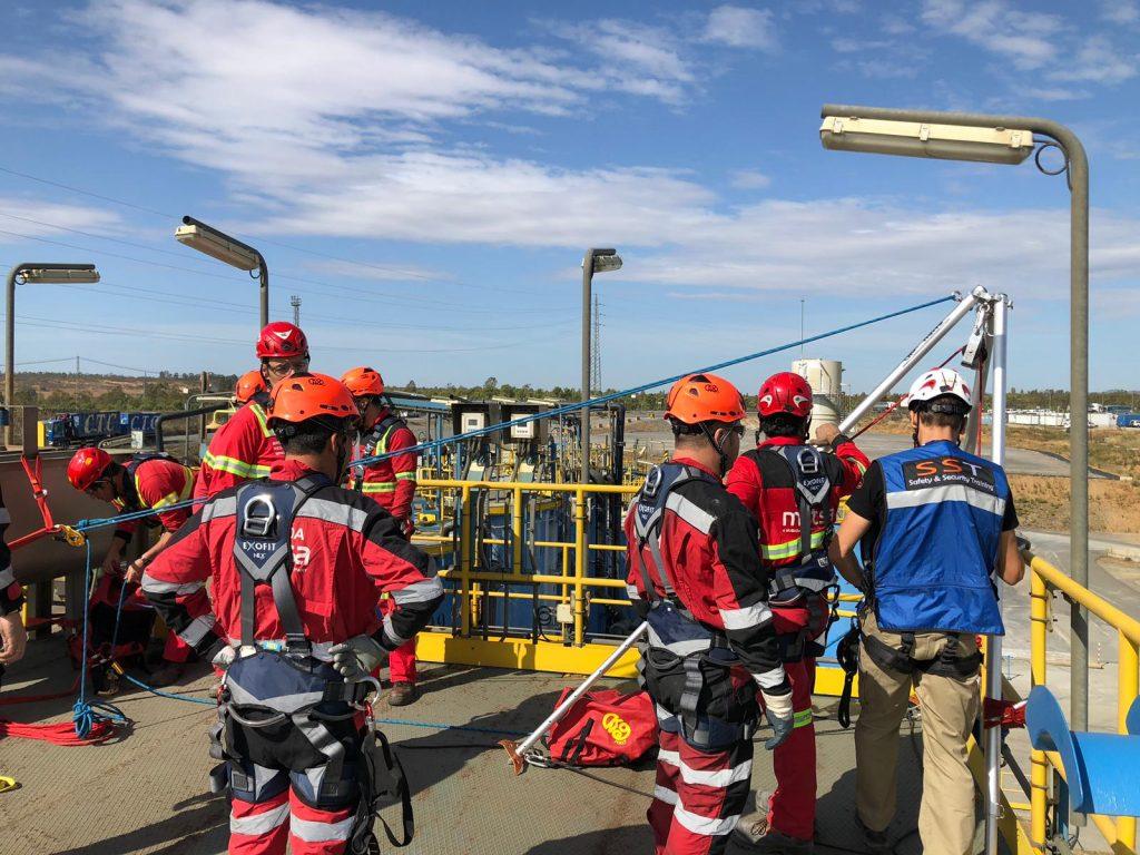 cursos rescate bomberos