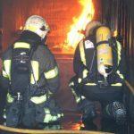 fuego en interio