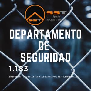 departamento de seguridad